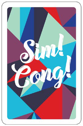 Sim!Cong! Mathematical Didactics Card Game about Triangles