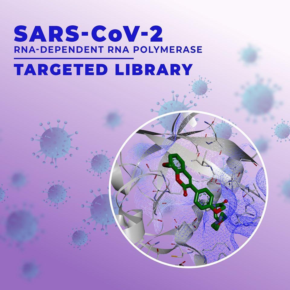 SARS-CoV-2 RNA-dependent RNA Polymerase Targeted Library