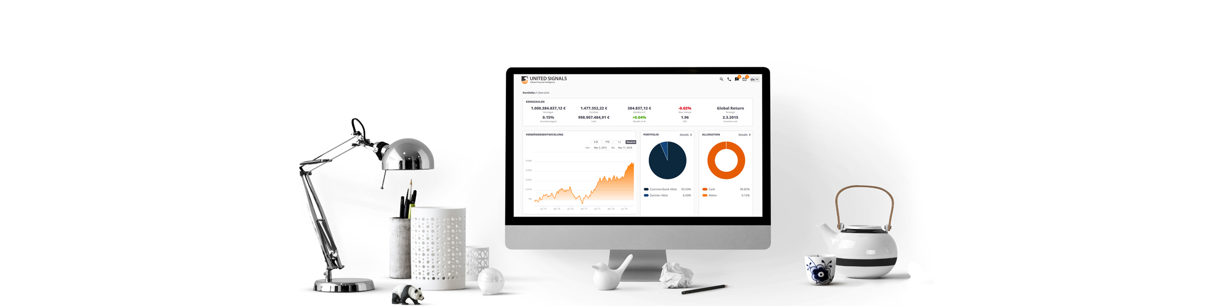 UNITED SIGNALS - Turning paper-based businesses into Streamlined Digital Dealmakers