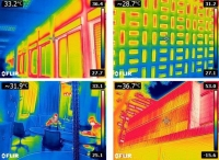 Diagnosis of the Building Pathologies by qualified and quantified images.