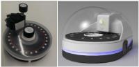 Dispositivo automático de control y monitorización de aguas y otros medios acuosos (en base a la detección de analitos de interés)