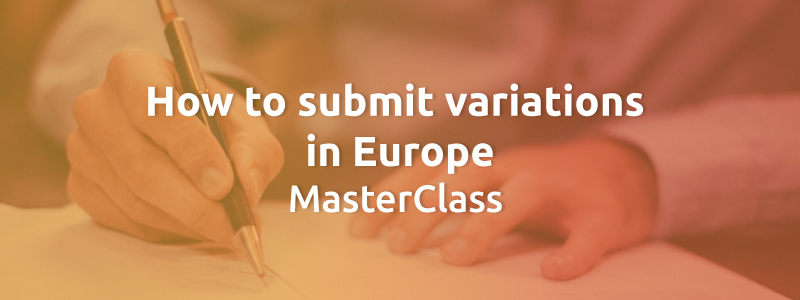 How to submit variations in Europe MasterClass